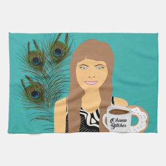 Gail Ohana Donut Kitchen Towel