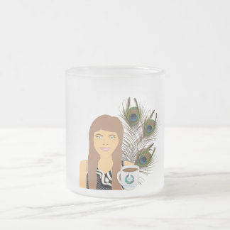 Gail Peacock Frosted Mug