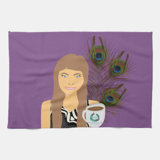 Gail Peacock Kitchen Towel