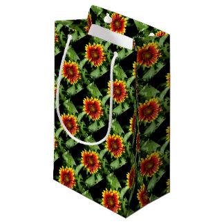 Gaillardia Blanket Flower Small Gift Bag