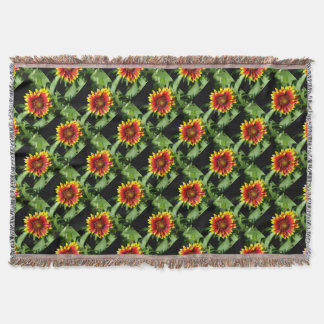Gaillardia Blanket Flower Throw