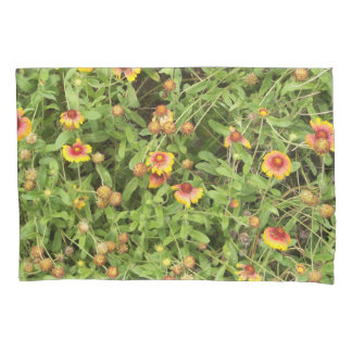 Gaillardia sometimes called Blanket Flowers Pillowcase