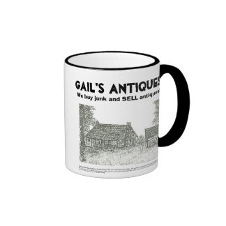 Gail's Antiques, We buy junk and SELL antiques Mug