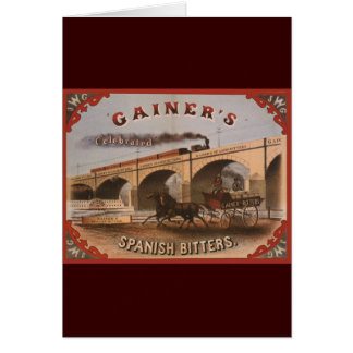 Gainer s Spanish Bitters Cards