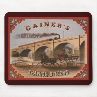 Gainer s Spanish Bitters Mouse Pads