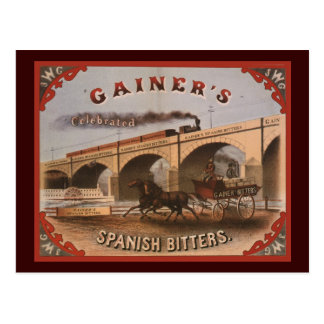 Gainer s Spanish Bitters Post Cards