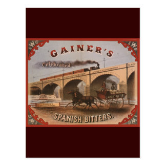 Gainer s Spanish Bitters Postcards