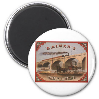 Gainer's Spanish Bitters 2 Inch Round Magnet