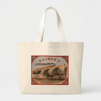 Gainer's Spanish Bitters Jumbo Tote Bag
