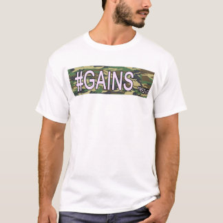 gains by Tyler Reeves T-Shirt