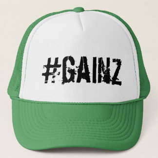 #GAINZ TRUCKER HAT