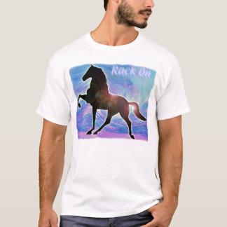 Gaited Saddlebred Racking Horse T-Shirt