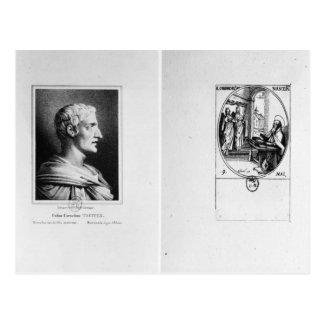 Gaius Cornélius Tacite gravé par Julien Carte Postale