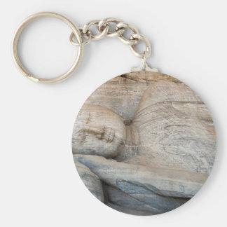 Gal Vihara, Polonnaruwa, Sri Lanka Basic Round Button Keychain