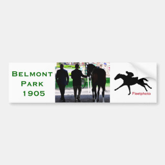 """Gala Award"" in the Paddock at Belmont Park Bumper Sticker"