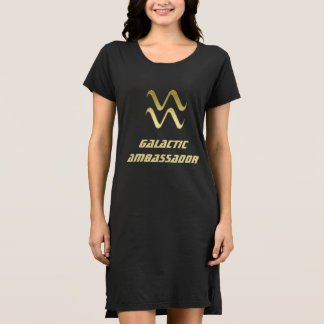 Galactic Ambassador ~ Zodiac Sign Aquarius Dress