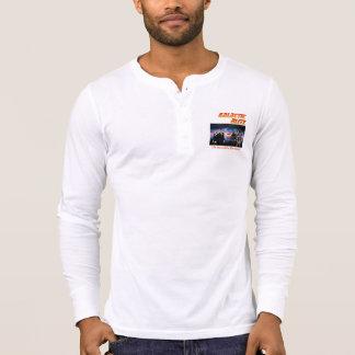 Galactic Blitz Bella+Canvas Henley Long Sleeve T-Shirt