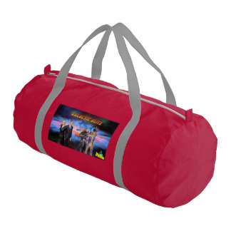 Galactic Blitz Custom Duffle Gym Bag