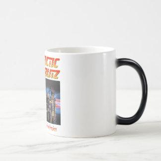 Galactic Blitz Heat-Sensitive Morphing Mug
