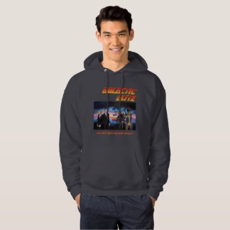 Galactic Blitz Men's Basic Hooded Sweatshirt