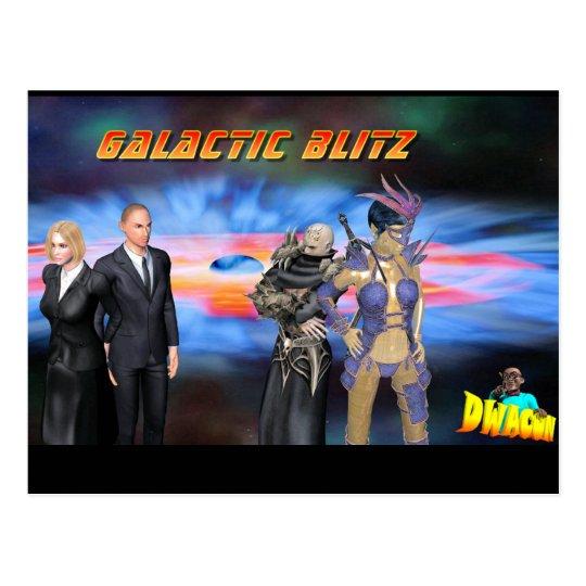 Galactic Blitz Postcards