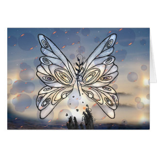 Galactic Butterfly! Card