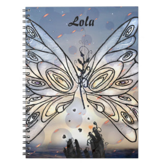 Galactic Butterfly Notebook