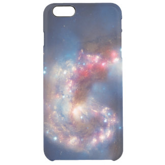 Galactic Collision Clear iPhone 6 Plus Case