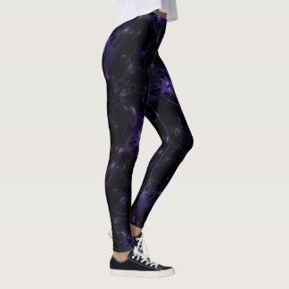 Galactic Custom Fractal Art Leggings