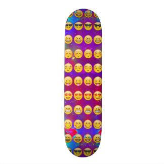 Galactic Emoji Patter Skateboard