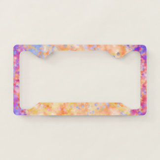 Galactic Force License Plate Frame