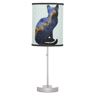 Galactic Kitty Lamp