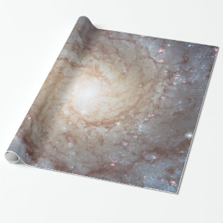 Galactic Light Vortex Wrapping Paper