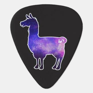 Galactic Llama Guitar Pick