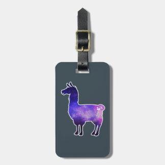 Galactic Llama Luggage Tag