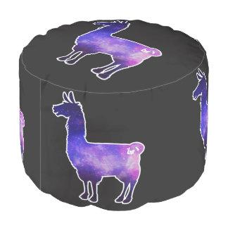 Galactic Llama Pouf