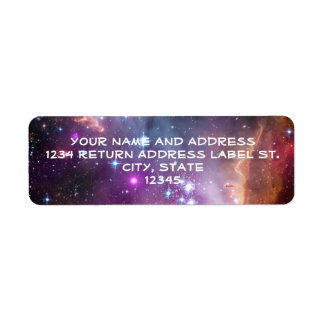 Galactic Outer Space Purple