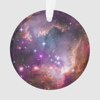 Galactic Outer Space Purple Nebulae
