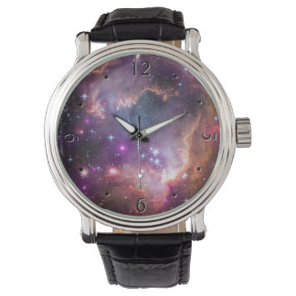 Galactic Outer Space Purple Watch