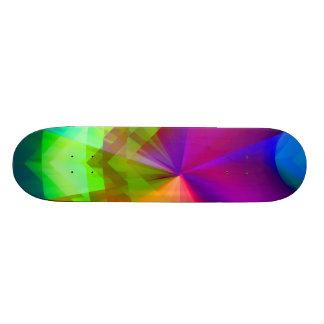 Galactic Prisms Skate Boards