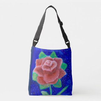 Galactic Rose All-Over Print Bag