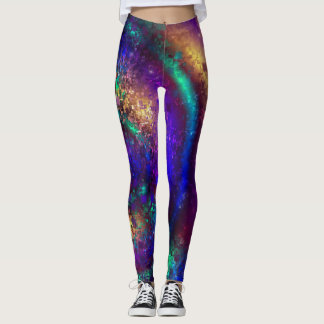 Galactic Spirals Leggings