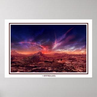 Galactic Sunset Print
