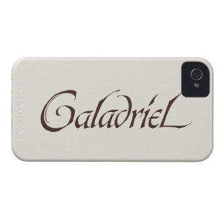 Galadriel Name Solid iPhone 4 Case-Mate Cases