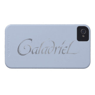 Galadriel Name Textured Case-Mate iPhone 4 Cases