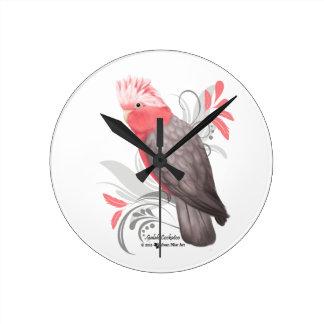 Galah Cockatoo Clocks