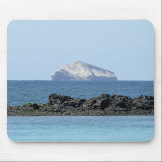 Galapagos Island in the ocean Mouse Pad