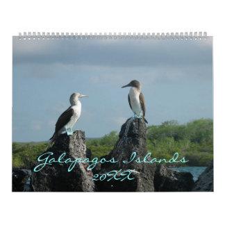 Galápagos Islands Calendar