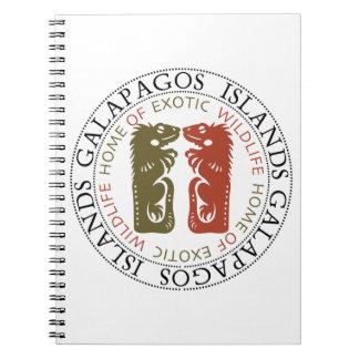 Galapagos Islands Iguanas Notebook