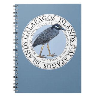 Galapagos Islands Night Heron Notebook Journal